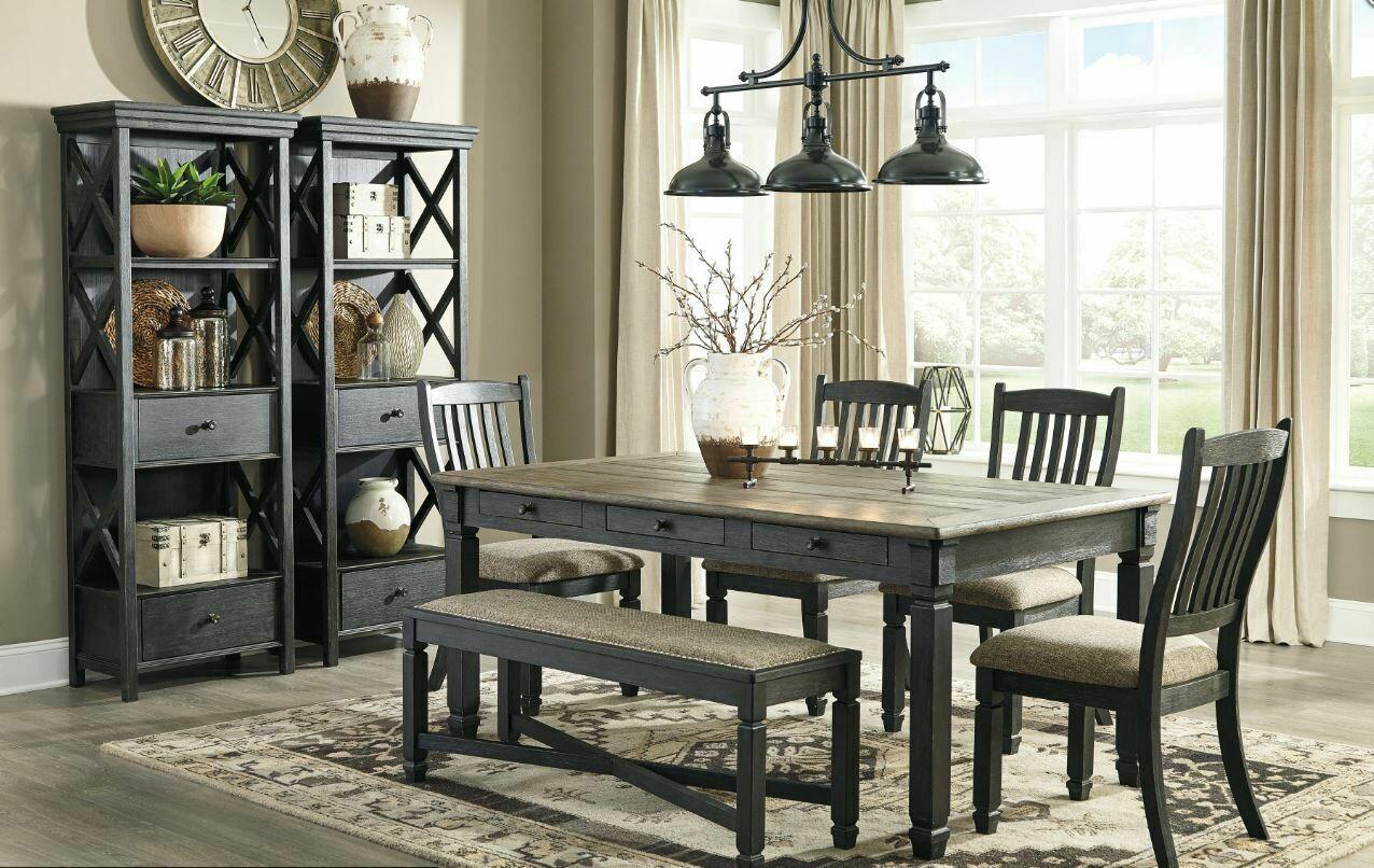 Ashley Furniture Tyler Creek 6pc Dining Set