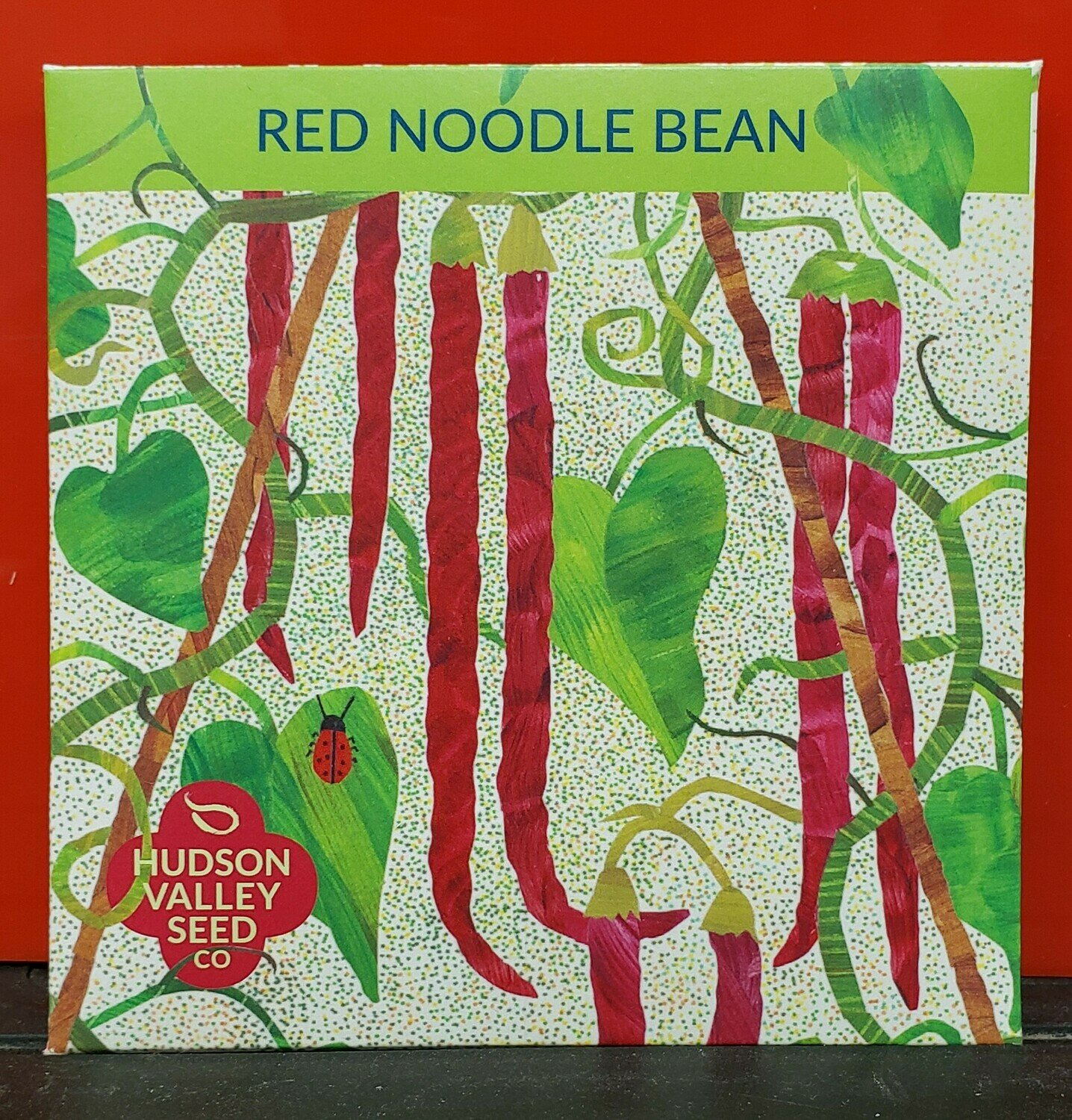 Art Pack Seeds: Bean, Yard Long (Red Noodle)