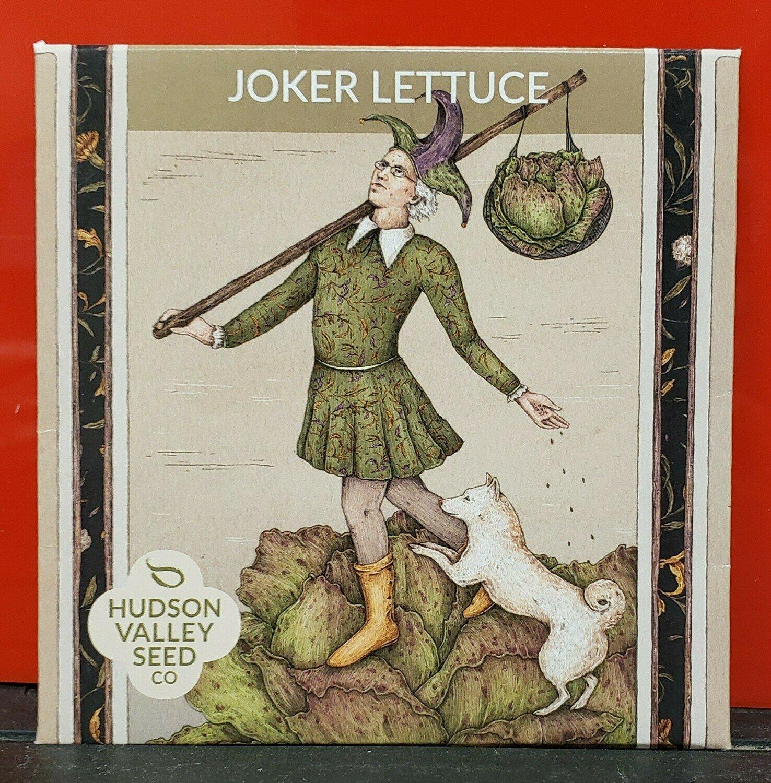 Art Pack Seeds: Lettuce, Crisphead (Joker)