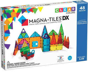 Magna-Tiles DX 48 Piece Set