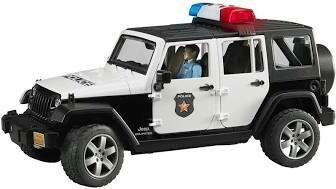 Jeep Police Car w/lights