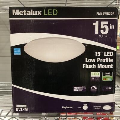 Metalux LED Flush Mount Fixture (size options)