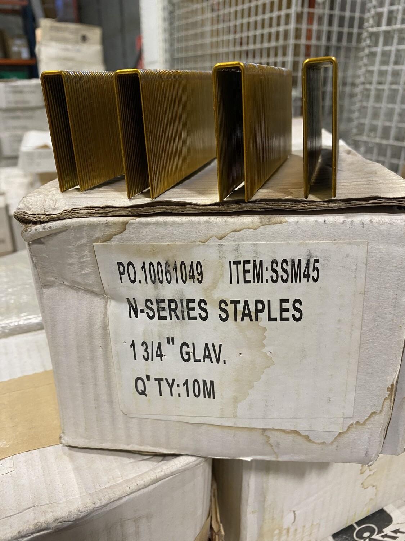 "1 ¾"" N-Series Staples- Galvanized"