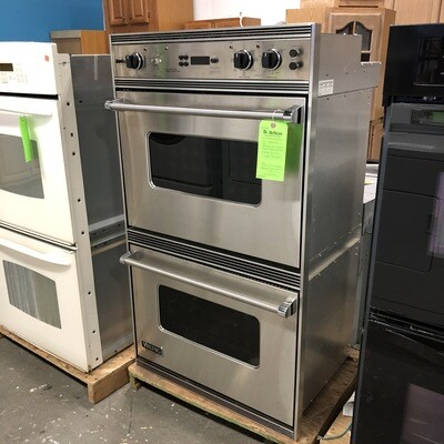 Stainless Steel Viking Professional Electric Double Wall Oven
