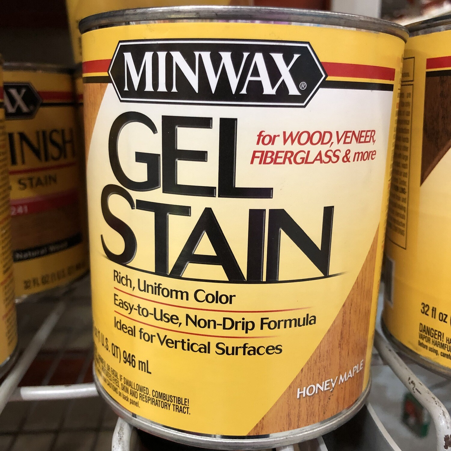 Minwax Gel Stain - quart (color options)