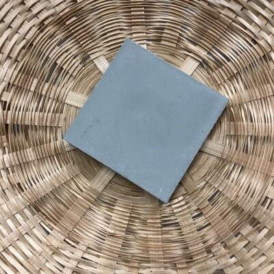 """Mosaic del Sur Aluminum Gray 4"""" x 4"""" Cement Tile"""