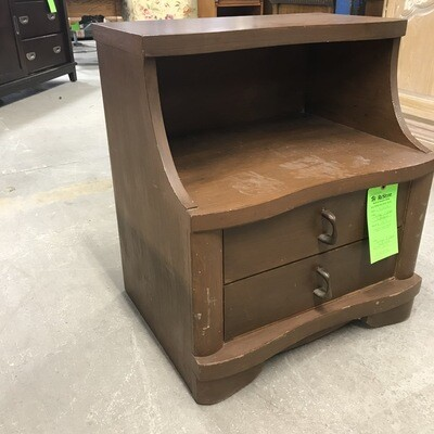 Vintage 2-drawer Nightstand