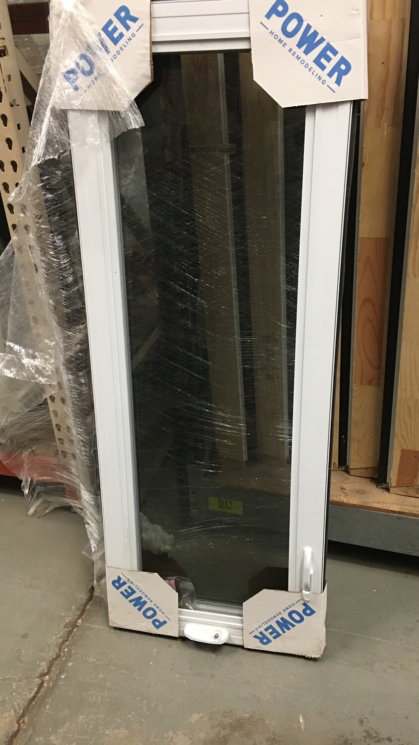 White Casement Windows with full screens