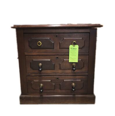 Antique 3-Drawer Dresser