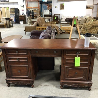 Cherry Colored Wood desk