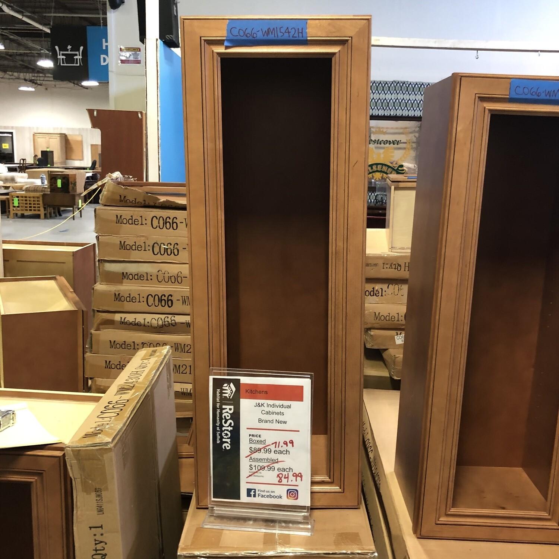 J&K upper cabinet 15x42