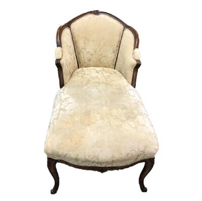 Fairfield chaise lounge floral chair
