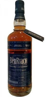 Benriach 17 Year Old 1999 Grey Carmenere Wine Finish 53.1%