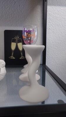 Wine Stem W/ Attachable Glass