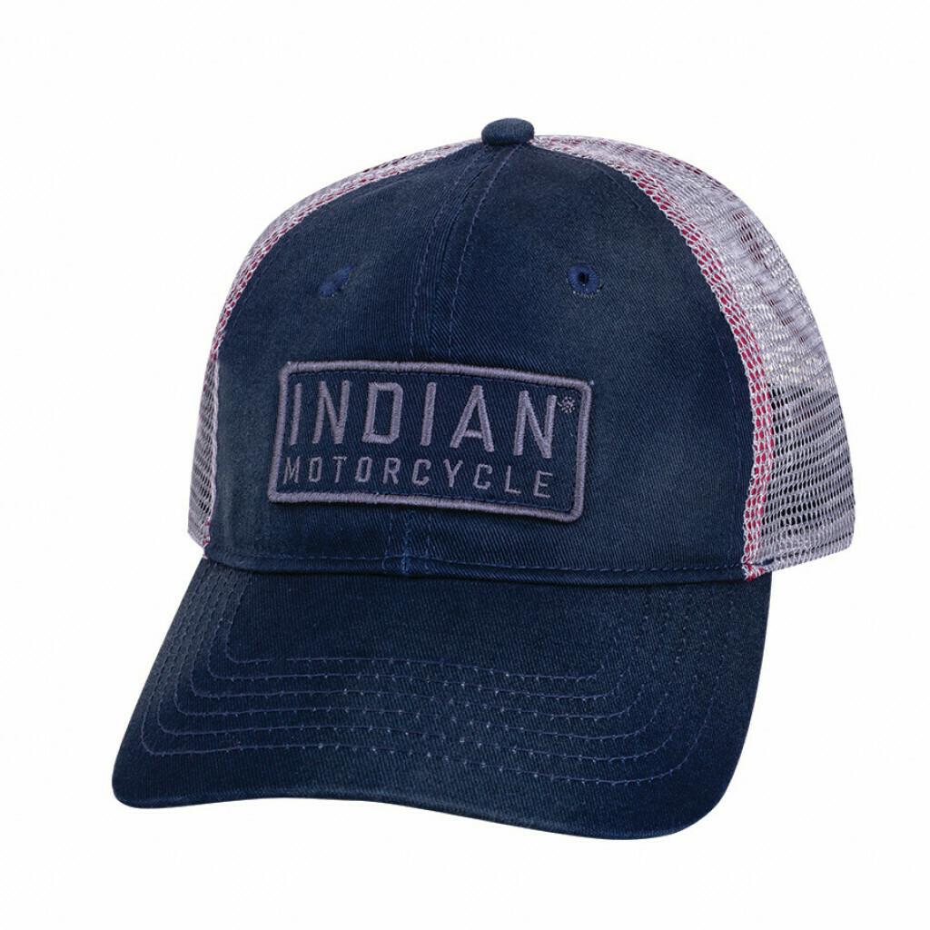 Block Patch Hat