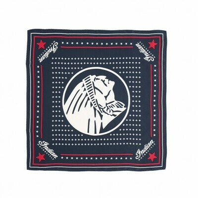 SILK BANDANA NAVY