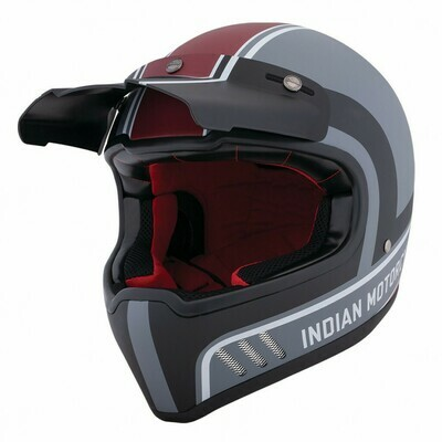 ADVENTURE HELMET MATTE STRIPE