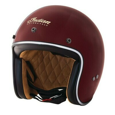 RETRO OPEN HELMET RED