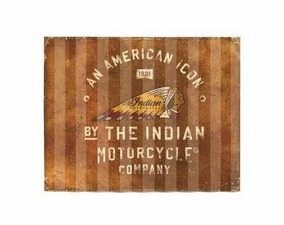 AMERICAN ICON CORRUGATED SIGN