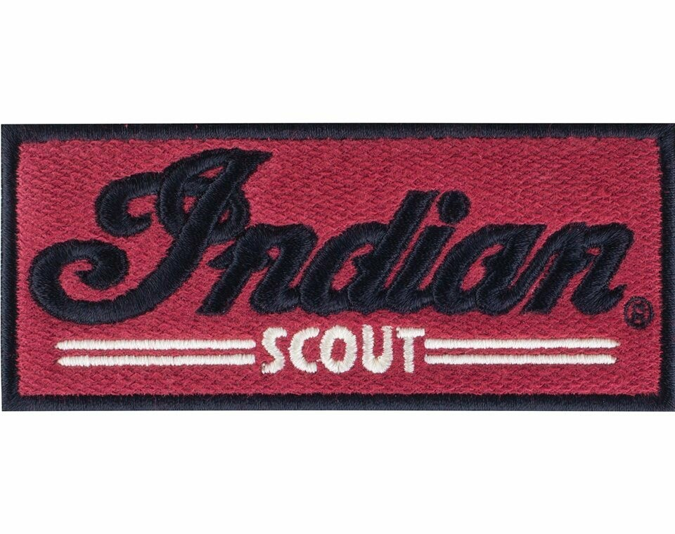 INDIAN SCOUT PATCH RED