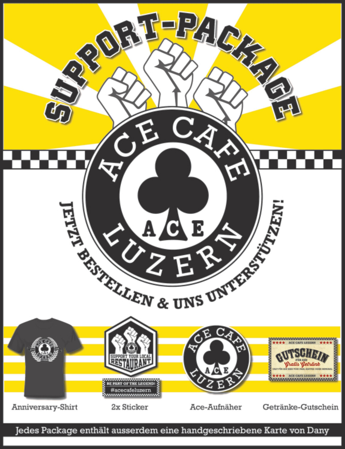 ACE CAFE SUPPORT PACKAGE