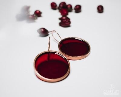 Sparkle Resin Earrings