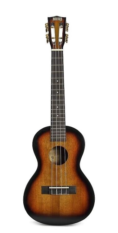 Mahalo Java Series Ukulele, 3 Tone Sunburst
