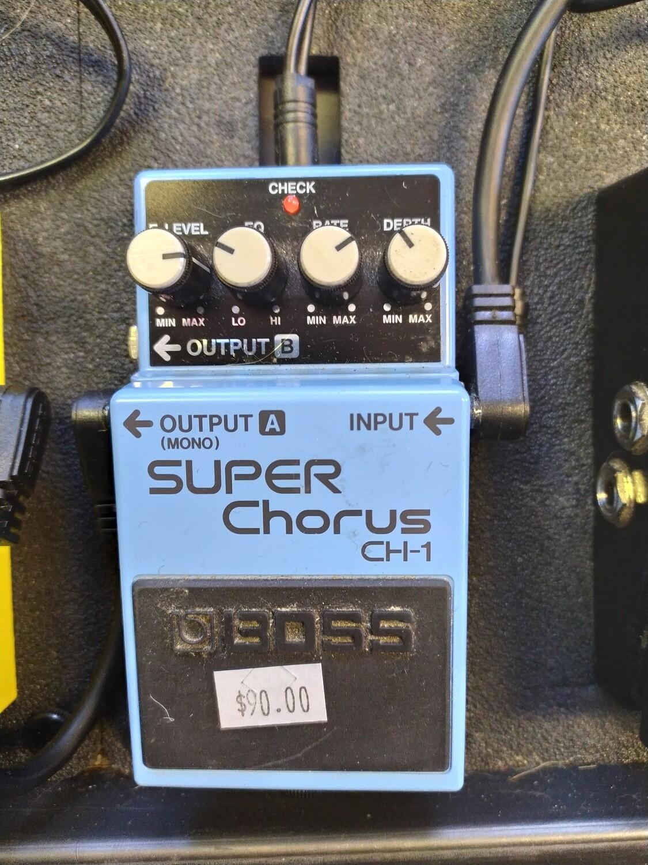Boss Super Chorus Pedal CH-1