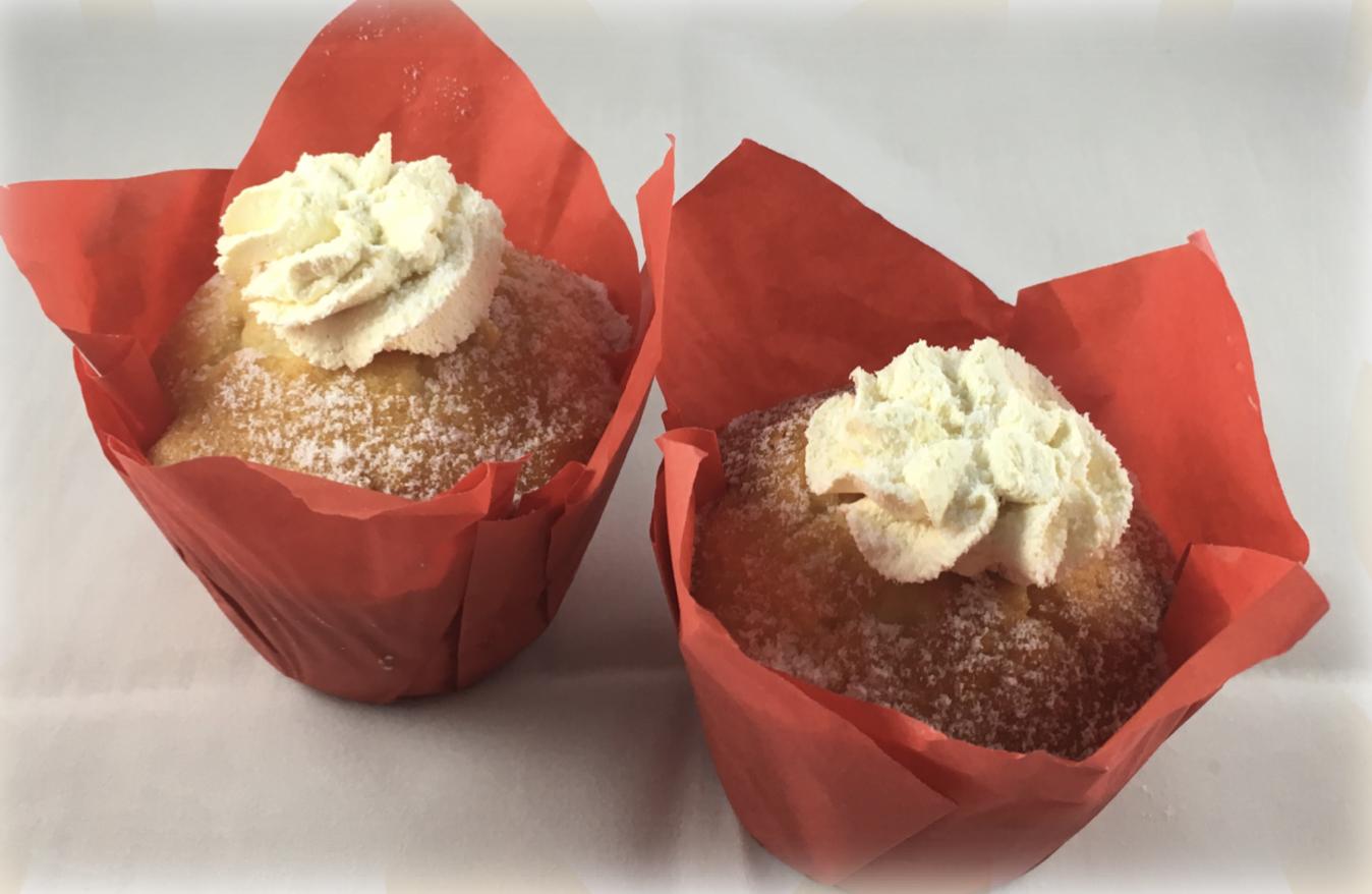 Victoria Sponge Muffins (2 pack)