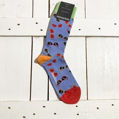 Dilly Socks – Blue Shades