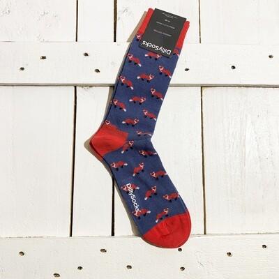 Dilly Socks – Navy Fox