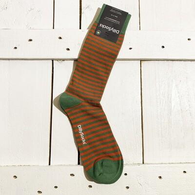 Dilly Socks – Green Liner