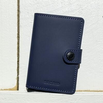 SECRID –  Miniwallet Matte Blue