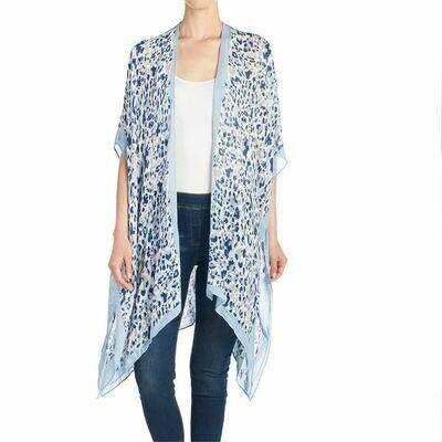 Kimono Aquamarine/Animal