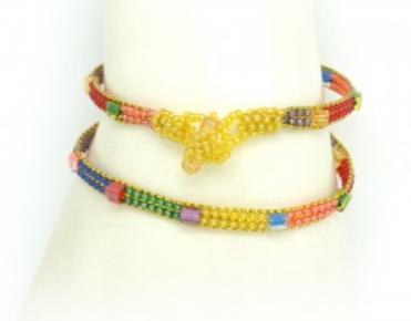 Skinny Rainbow Bracelet II