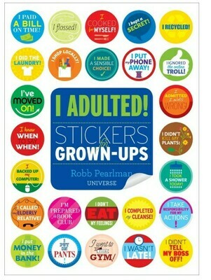 I Adulted!  Stickers