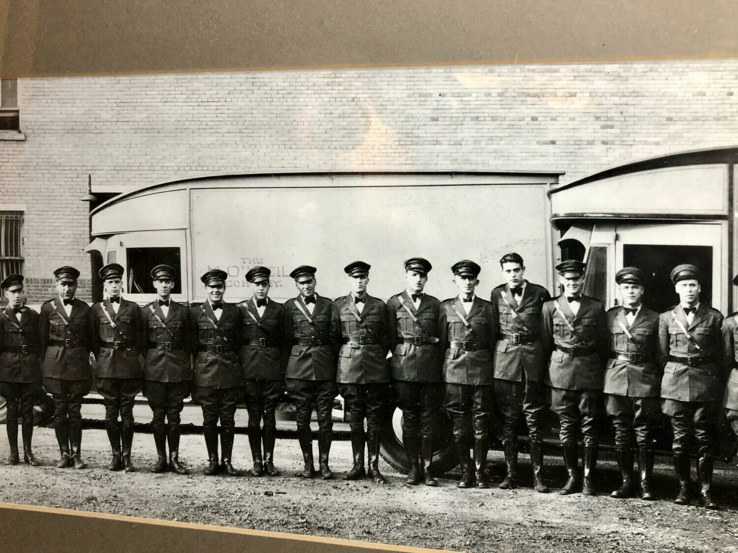 Vintage Men In Uniform Photo