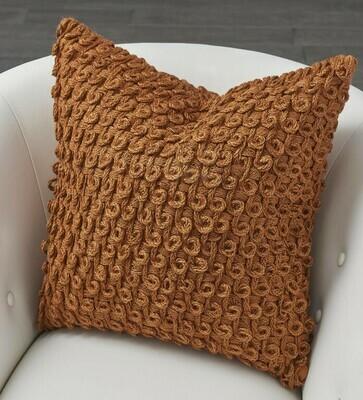 Rust Loop Pillow