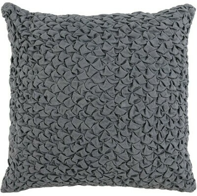 Saltwater Blue 22x22 Pillow