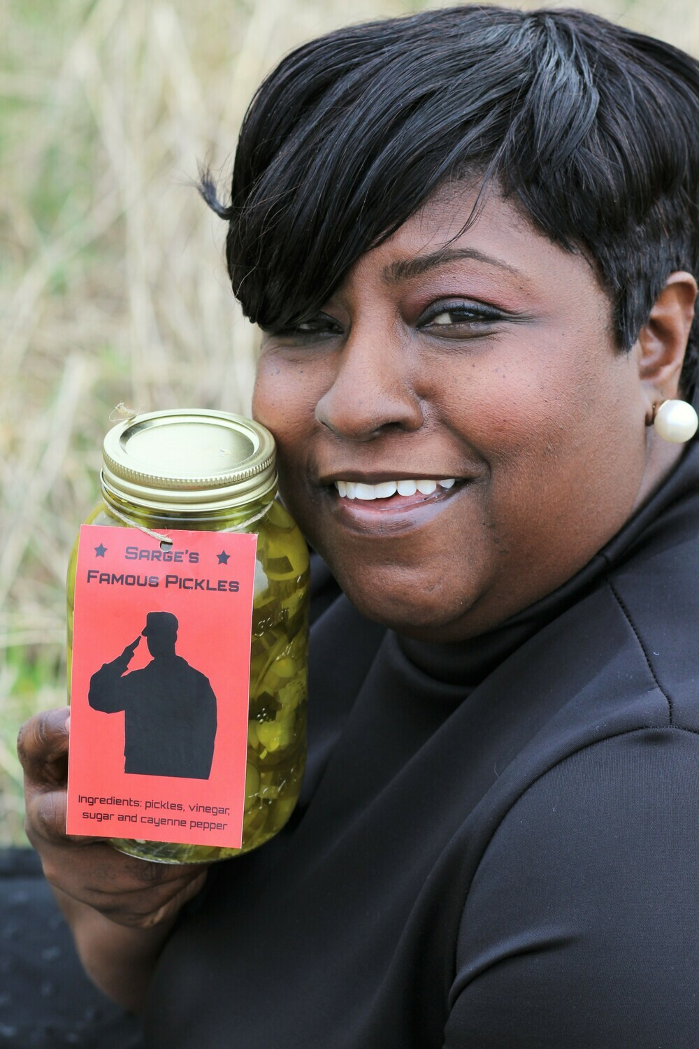 The Original Pickle (sweet with a Lil heat)