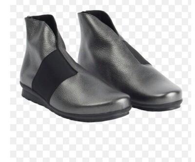 Gunmetal Anke zip Boot