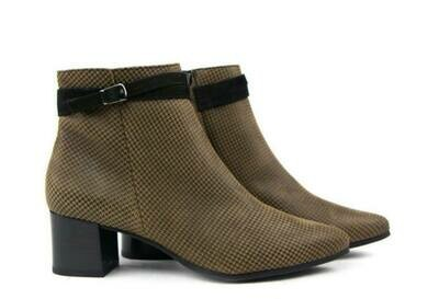 PG Houndstooth Buckle Boot