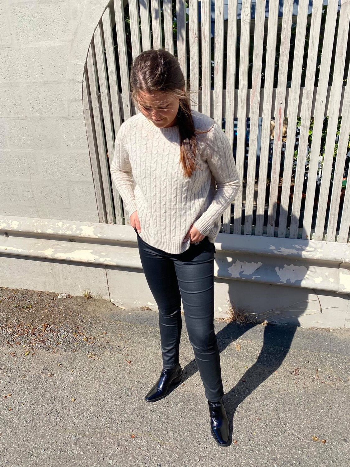 Cashmere Cable Knit - Oatmeal