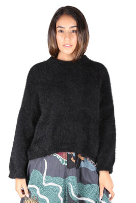 Angora Jumper - Black