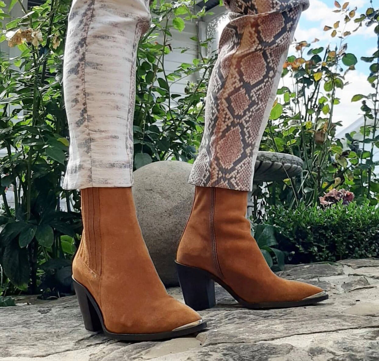Modern Tan Suede Boot