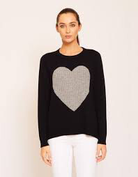 Heart Jumper - Black