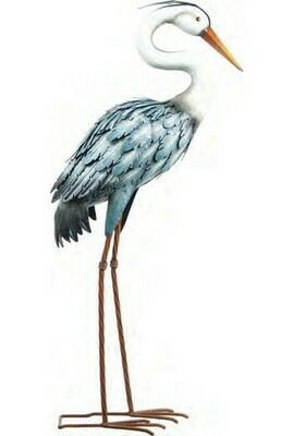 Metal Heron Blue
