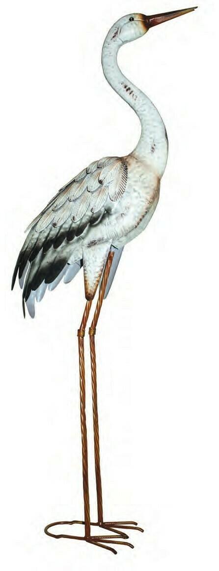 Metal Heron White