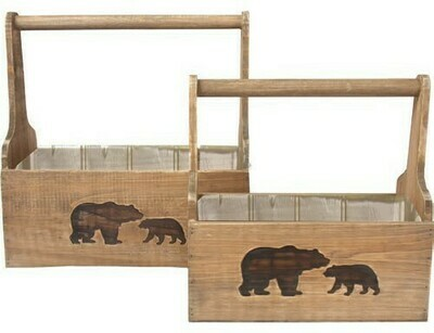 SM Bear Crate W/handle
