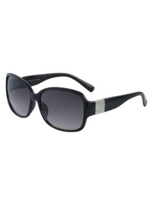 Alfred Sung Stones Round Sunglasses